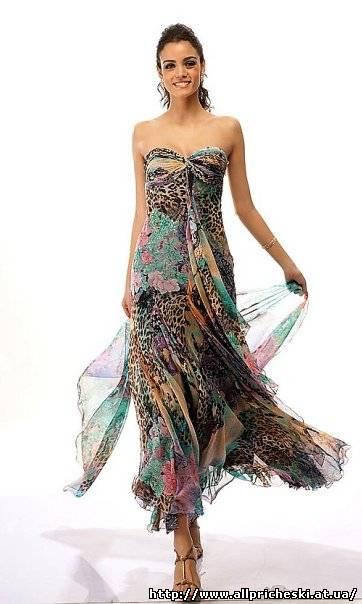 Трикотажное платье с завышенной талией в стиле ампир. . Готовые выкройки с учётом размеров. . Туника из трикотажа с