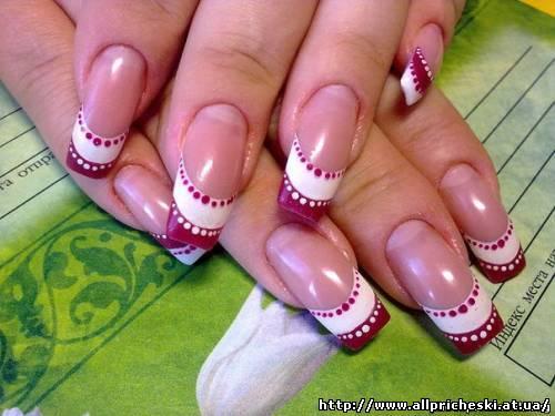 короткие гелевые ногти дизайн фото - Маникюр фото.